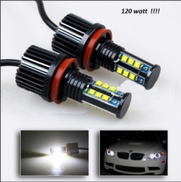 H8 WITTE LED Angel Eyes Bulbs