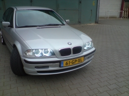 SMD LED angel eyes set kompleet E46 facelift