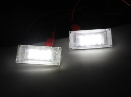 Kentekenverlichting SMD E46  wit
