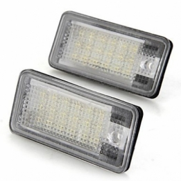 Kentekenverlichtingsset LED A4 B7 06-09