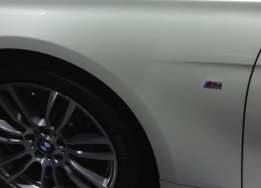 BMW M power logo - klein